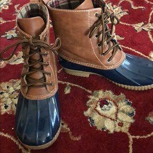 women's boutique duck boots